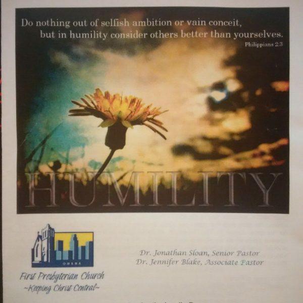 Sermon Bulletin Cover Image